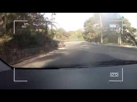 Baguio City Philippines - Drive From John Hay to Texas Instruments