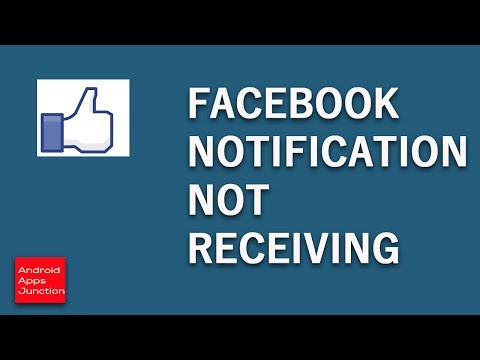 Facebook notification not receiving on android device