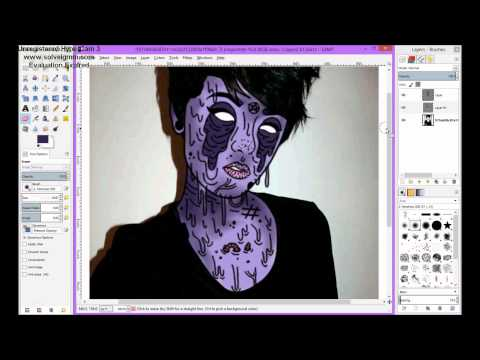 How To Zombie/Grime Edit Using GIMP 3