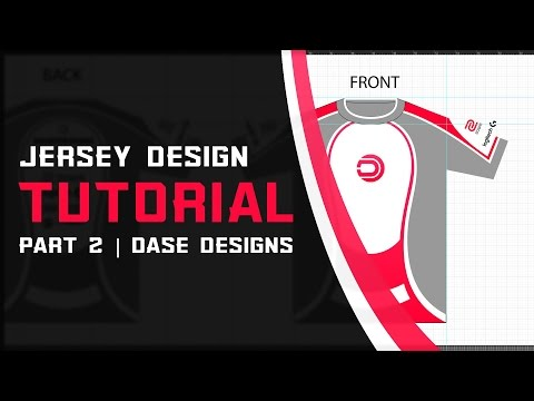 eSports Jersey Design Part 2 | Adobe Illustrator Tutorial