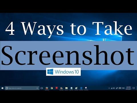 4 ways to take screenshots in Windows 10 (2 with PrntScr &  2 without PrntScr)