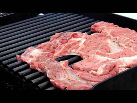 How To Grilll a Thin Chuck Steak on a Park Grill