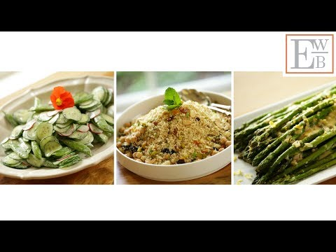 3 Spring Salad Recipes | ENTERTAINING WITH BETH