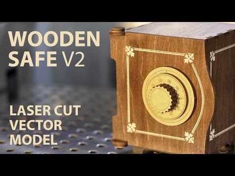 Wooden SAFE. Project plan for laser cut