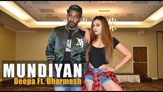 Mundiyan - Baaghi 2   Deepa Iyengar & Dharmesh Yelande   Bollywood Dance Choreography