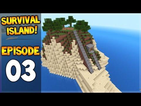 Minecraft Pocket Edition - Survival Island - We Found Diamonds!! Episode 3