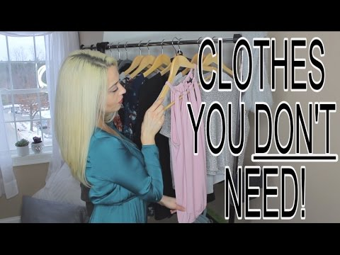 CLOTHES TO GET RID OF! What You Don't Need