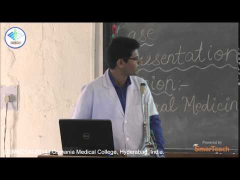 Case Presentation - Mohammad Zubair of Osmania Medical College