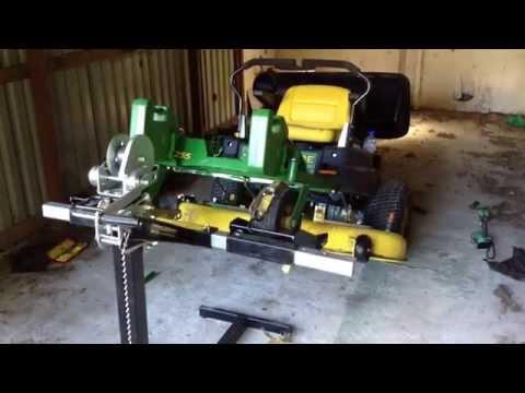 John Deere Z255 Deck Belt Repair