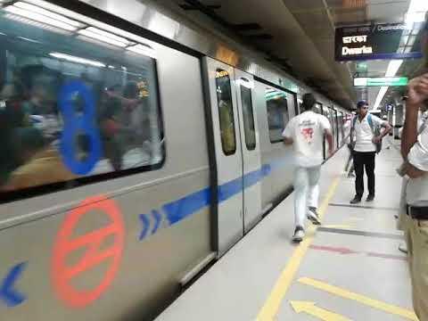 Famous Mandi House Metro Station - Blue Line