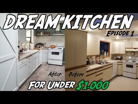 DIY Kitchen Demolition   How to Remodel Your Kitchen on a Budget Episode #1
