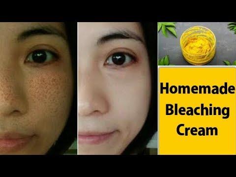 Homemade Bleaching Cream For Skin Lightening and Pigmentation, Dark Spots and Glowing Skin RABIA SKI