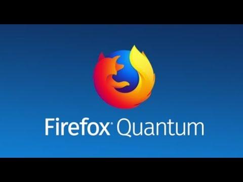 Firefox Quantum Multirow Bookmarks
