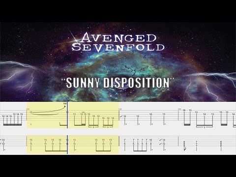 How to Play Avenged Sevenfold - Sunny Disposition