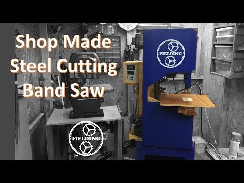 058. My Version of Matthias Wandel's Band Saw with Variable Speed for Steel Cutting