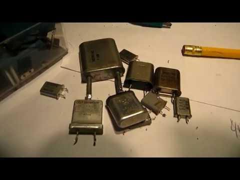 Quartz crystal sine wave oscillator 1800 KHz up to 7 MHz demo & schematic
