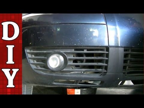 How to Remove and Replace a Fog Light and Bulb - VW Passat Audi A4