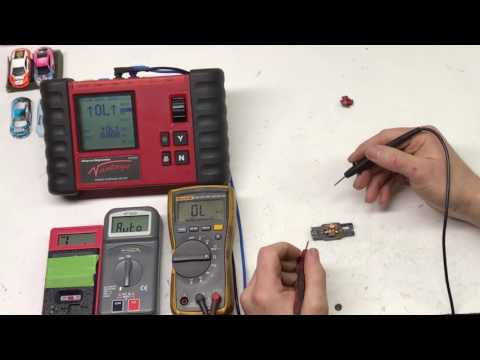 This video shows the difference between a few different multimeters