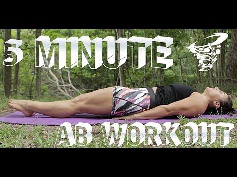 5 Minute Abs  | MOVE with Christina Gambino
