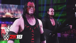 WWE 2K18 entrance mashup: The Brothers of Destruction as Breezango