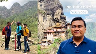 Trekking to Tiger's Nest, Paro Taktsang, INB Trip EP #25