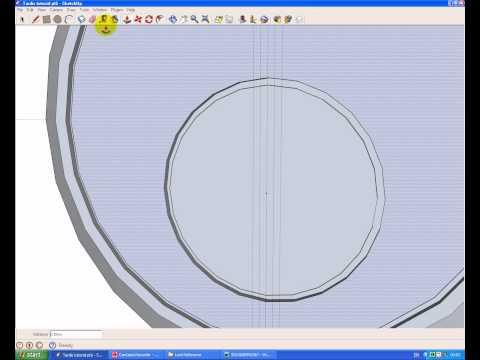 Build a Tardis in Sketchup pt 7: Door Lock