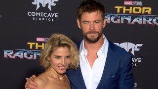 Chris Hemsworth, Cate Blanchett & Miley Cyrus at the Thor: Ragnarok Premiere