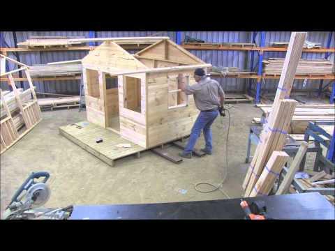 How to Build a Cubby house (windows pt 7)