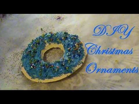 DIY Christmas ornaments - easy and fun!