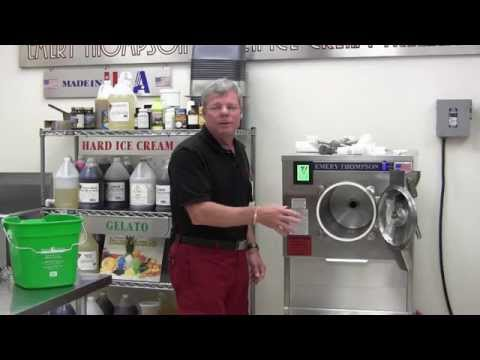 Cleaning & Sanitizing your Emery Thompson