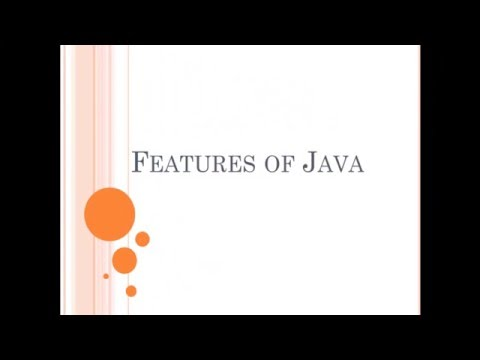 Java tutorial part -2 (features of java)