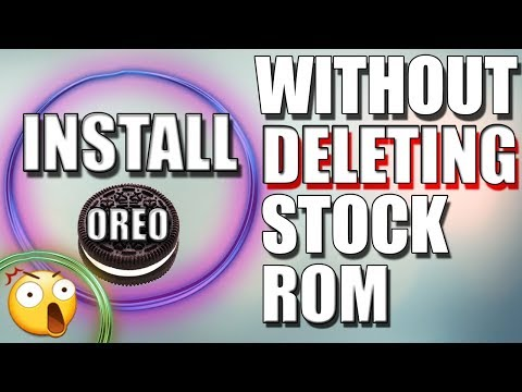 How to install android oreo 8.0 Moto X Play ✔ (without deleting stock rom - 2018)