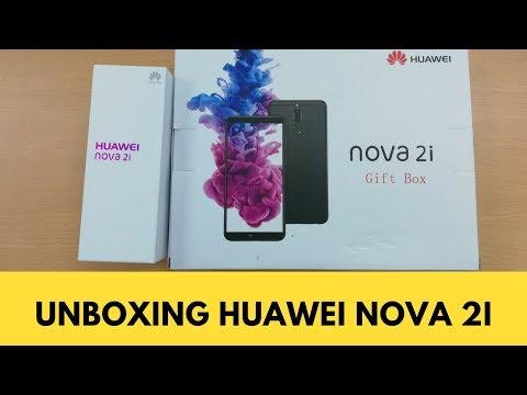 Unboxing Huawei Nova 2i -  Bagus buat Fotograpi Ponsel