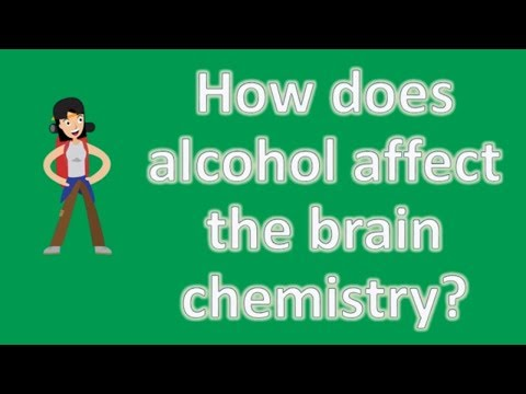 How does alcohol affect the brain chemistry ? | Protect your health - Health Channel