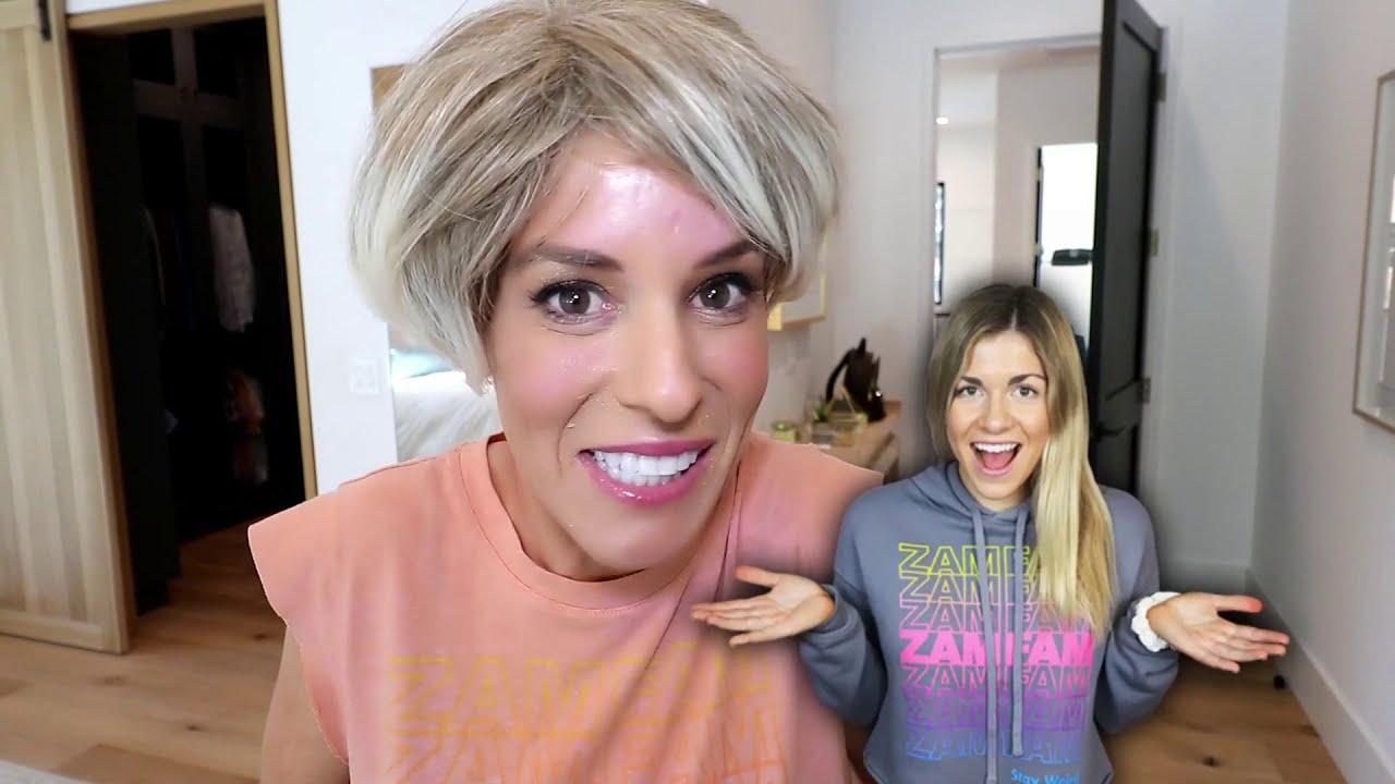I Gave My Best Friend a Bad KAREN Haircut- Rebecca Zamolo