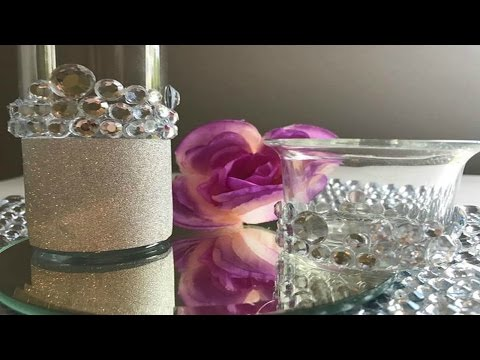 DIY | GLAM PARTY FAVORS | BLING WEDDING DECORATIONS