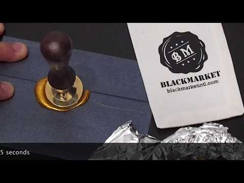 How to make a wax seal?