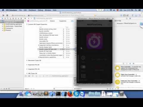 Cambiar el nombre a una aplicación iOS en Xcode 5