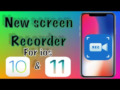 HOW TO SCREEN RECORD ON IOS 10 AND 11 ? NEW SCREEN RECORDER FOR IOS !