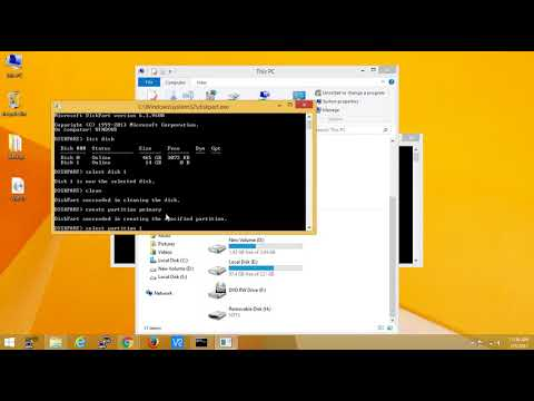 How to Create Bootable Pendrive Using Cmd Prompt for windows 7,8.1,10 & server versions