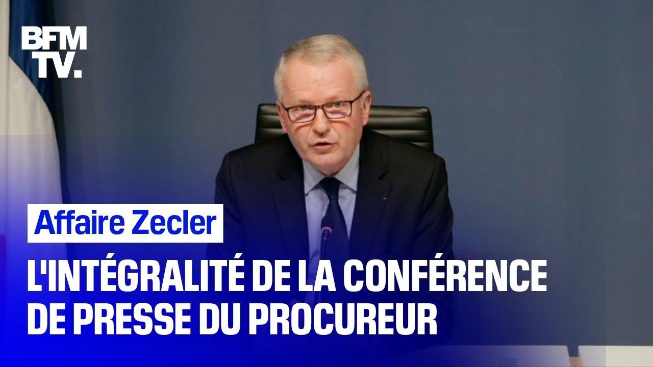 Affaire Zecler: l'intégralité de la conférence de presse du procureur de Paris