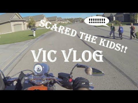 Vic Vlog | Bike Projects | Rolling Burnout