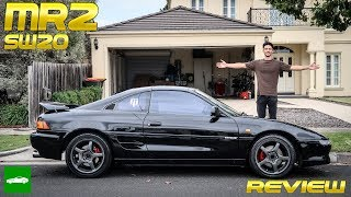 Doug DeMuro Style Review: MR2 SW20 Complete Walk around (3sge / Naturally Aspirated) - mkii