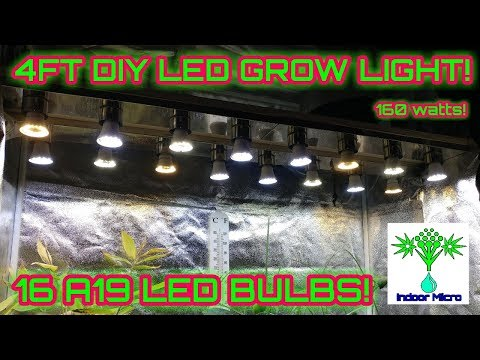 4ft DIY LED 2 x 4 Grow Tent Grow Light