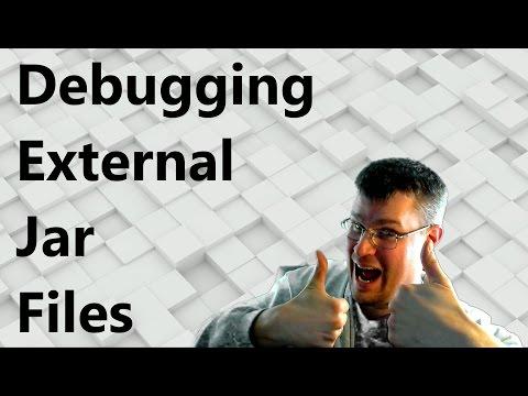 How to debug an external jar