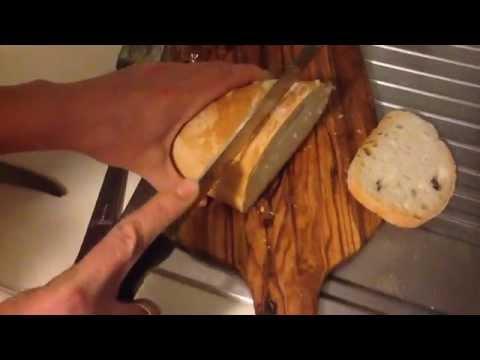 Tuscan cabbage (kale) crostini - crostini al cavolo nero
