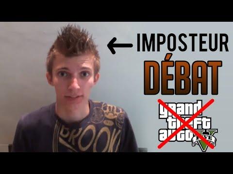 Débat Christodu69 IRL : un imposteur, menteur, intéressé par le buzz de GTA V [FUN]