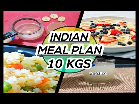 How to Lose Weight Fast 10Kg in 10 Days   Indian Meal Plan   Veg Diet Plan For Weight Loss India