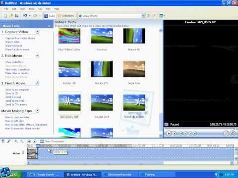 Tutorial - How to use Slow Motion on Windows Movie Maker.