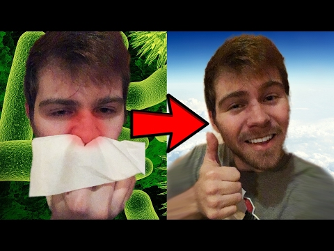 HOW TO GET RID OF A STUFFY NOSE!